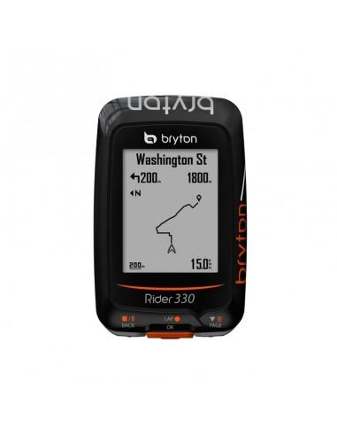 Ciclocomputer GPS Bryton Rider 330E per MTB con Navigazione - Novita' 2016