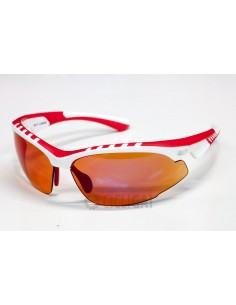 Occhiali RPJ mod RILEY White/Red lente Lacing Red