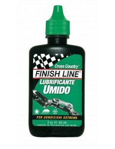 Cross™ Country Wet lubrificante sintetico a goccia da 060 ml Finish Line