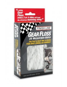Kit di 20 spaghi in microfibra Gear Floss™ Finish Line