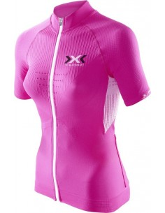 Maglia Bike Race The Trick Shirt Short Full Zip Lady X-Bionic