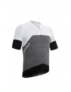 Race Wool Jersey FZ Maglia Maniche Corte Dot out