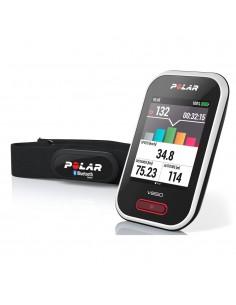 POLAR V650 HR - Bike Computer Smart con GPS e Fascia Cardio