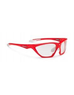 Occhiali Rudy Project mod. FIREBOLT RED FLUO Lente Fotocromatica