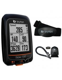Ciclocomputer GPS Bryton Rider 100T con Cadenza e Cardio