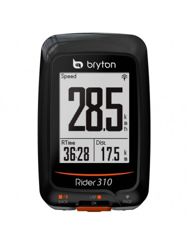 Ciclocomputer GPS Bryton Rider 310E - Novità 2016