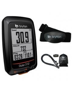 Ciclocomputer GPS Bryton Rider 310T con Cadenza e Cardio