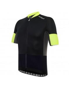 Race Wool.2 Jersey FZ Maglia Ciclismo Estivo con inserti in Lana Merino Dot Out