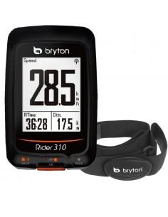 Ciclocomputer GPS Bryton Rider 310H con Fascia Cardio