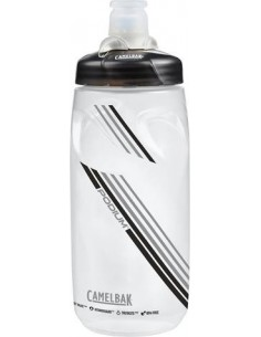 Podium Bottle 620ml 21oz Clear Carbon Borraccia Camelbak
