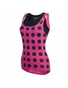 Elite W Top ciclsimo Donna Dot Out