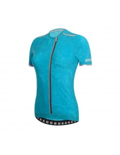 Oxygen W Jersey Maglia Ciclismo Donna Dot Out