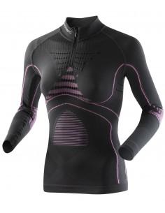 Maglia intima a maniche lunghe Lady Energy Accumulator Evo UW Shirt Long Up Zip X-Bionic