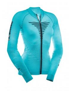Maglia maniche lunghe Effektor Power Biking Shirt Long Turtleneck Full Zip Lady X-Bionic
