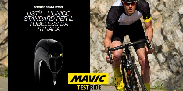 Mavic Test Ride - Ruote UST - Road Edition